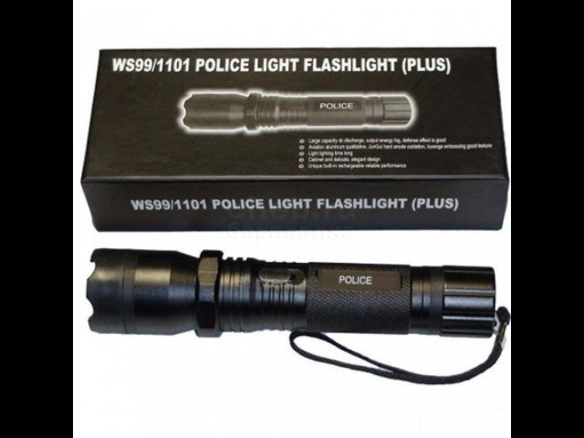Обзор фонарика шокера Police 1101