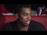 Hassan Whiteside Postgame Interview Bucks vs Heat February 9, 2018 2017-18 NBA Season