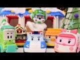 Tolle Spielzeugautos - Robocar Poli und das Rettungsteam feiern Weihnachten