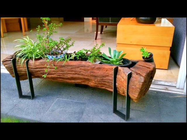 99 WOOD and Log Ideas 2017 | Creative DIY ideas from wood 14