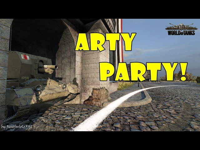 World of Tanks Funny Moments ARTY PARTY 54