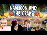 bby boy namjoon & his love for crabs