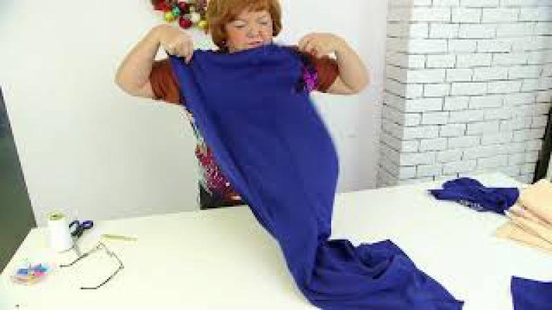 Конкурсное платье 4 Моделирование платья на рельефах с имитацией болеро Эскиз Елены Рыжкиной Часть 2