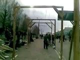 В Луганске возле СБУ уже построили виселицы для бандеровцев