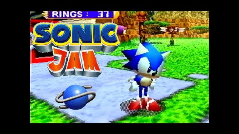 Sonic Jam playthrough (SEGA Saturn)