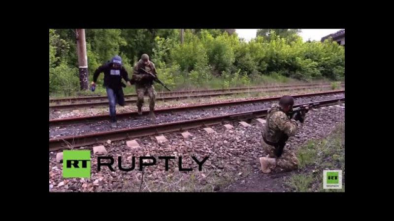 Ukrainisches Militär eröffnet das Feuer auf russisches Fernsehteam