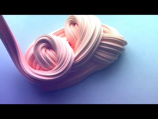 Как сделать флаффи слайм 😍How to make a fluffy slime