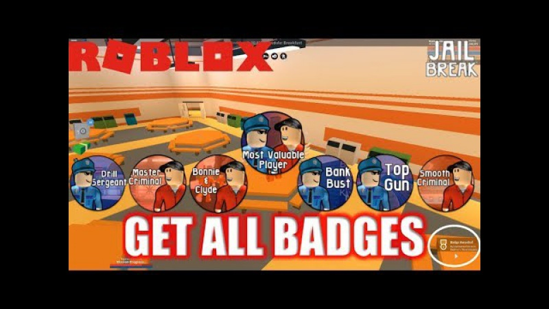 Roblox: JailBreak: How to get ALL THE JAILBREAK BADGES | ROB SMALL STORES