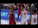 Things Got Chippy Between LeBron James and the Knicks