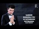 Sardor Mamadaliyev - 52 Vatandosh hotirasiga   Сардор - 52 Ватандош хотирасига (music version)