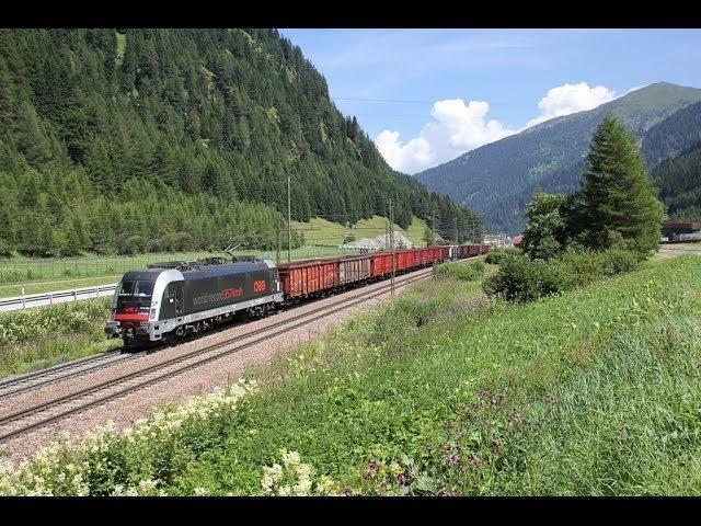 Bahnverkehr am Brenner - E 483 und ein Weltrekord