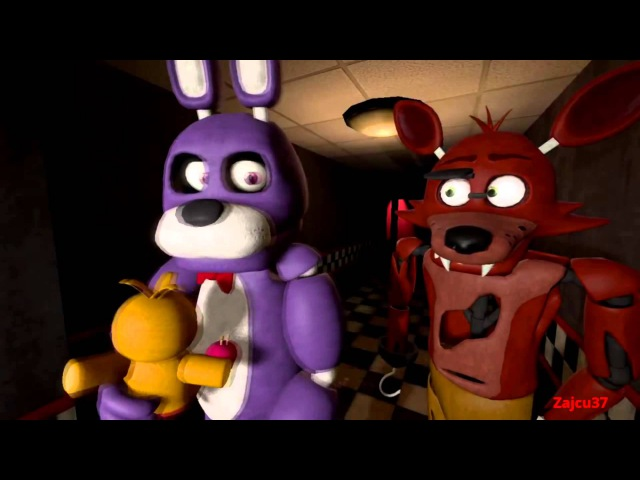 [Five Nights At Freddy's SFM] Bonnie x Toy chica [RUS] (By zajcu37)