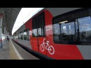 МЦК-Как провозить велосипед-Вход и выход-легко и просто! Стрешнево-Площадь Гагар...