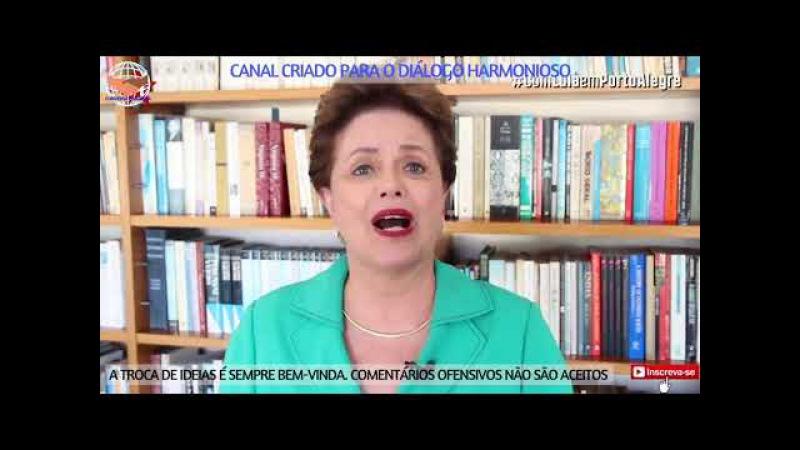 Dilma fala sobre processo do ex-presidente Lula, considerado terceira parte do golpe