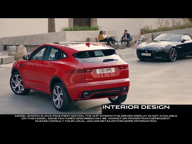 The New JAGUAR E PACE VS Volvo XC40 Interior Design