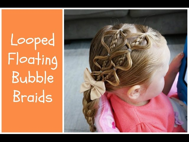 Looped Floating Bubble Braid