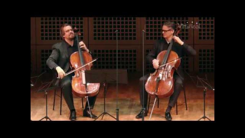 CelloVirtuoSix spielt N. Paganini Moses Variationen