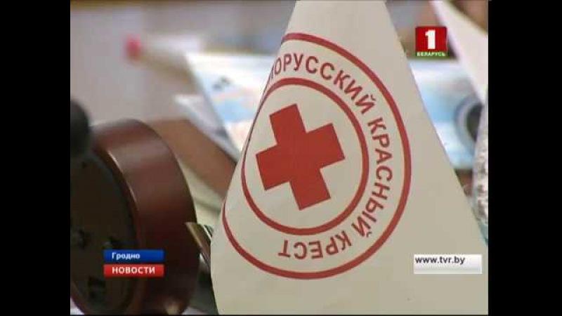 Красный Крест реализует масштабные проекты в Гродненской области