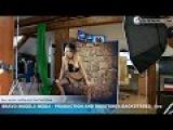 Bravo Models Media - Prague - photo shoots backstages - porn model FLORANE RUSSEL - 03