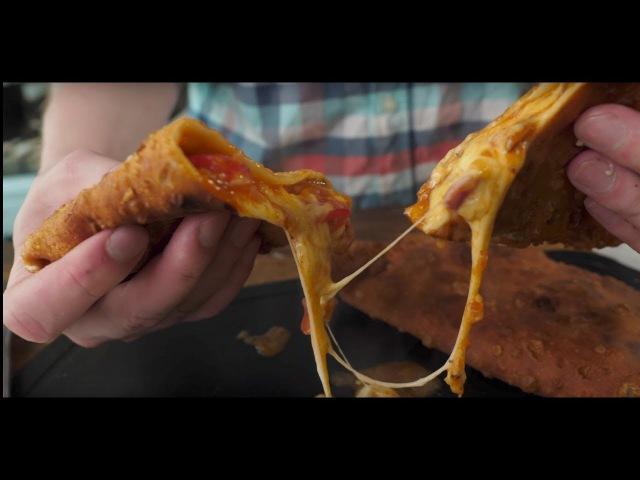 Пицца чебурек Жирный Франкенштейн