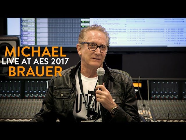 Michael Brauer live workshop at AES NY 2017