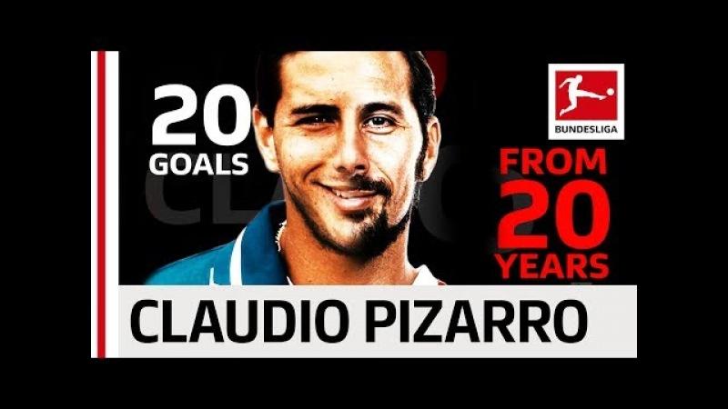 Claudio Pizarro - 20 Years 20 Goals