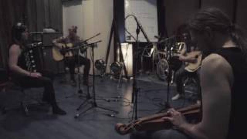 Ensiferum Unettomaan Aikaan live studio tracking