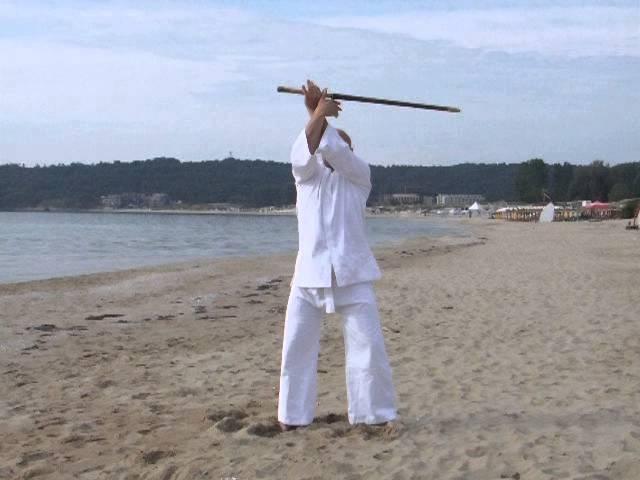 Свободное вращение меча деревянный меч сбалансированный 800 грам