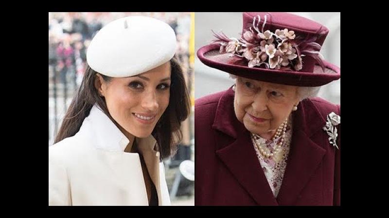 Новый выход королевской семьи: Меган Маркл и Елизавета II впервые вместе появились на публике
