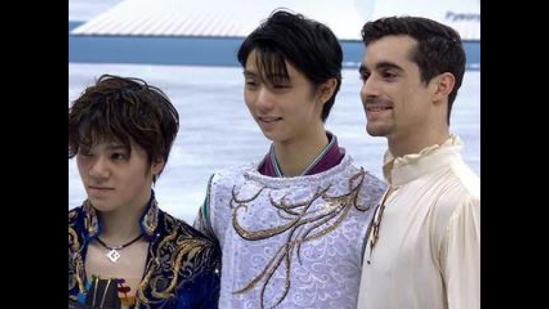 XXIII Зимние Олимпийские игры. Фигурное катание. Мужчины. Произвольная программа