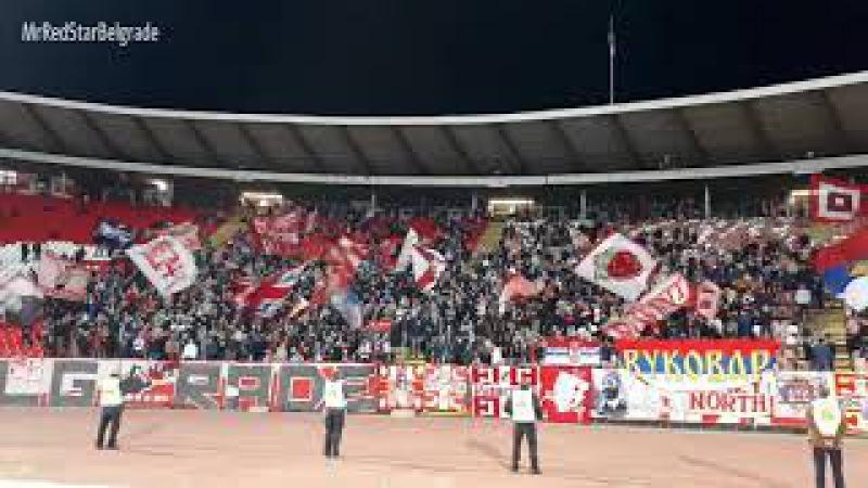 Delije: Erdogan, Turcine, napusi se kurcine | Crvena zvezda - Dinamo Vranje 5:0
