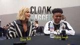 Marvels Cloak and Dagger: Olivia Holt and Aubrey Joseph