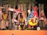 Танец маски Zamble народа Гуро из Кот д`Ивуара.