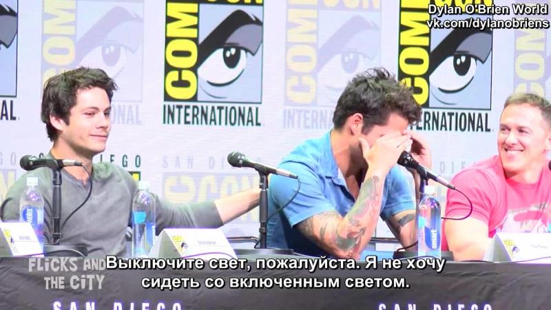 Панель сериала «Волчонок» на фестивале «Comic-Con» / 20 июля 2017 (русские субтитры)