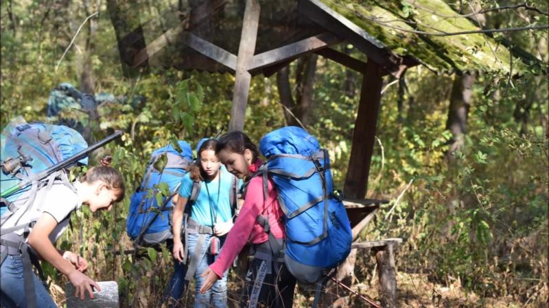 Октябрь поход Челбасский лес