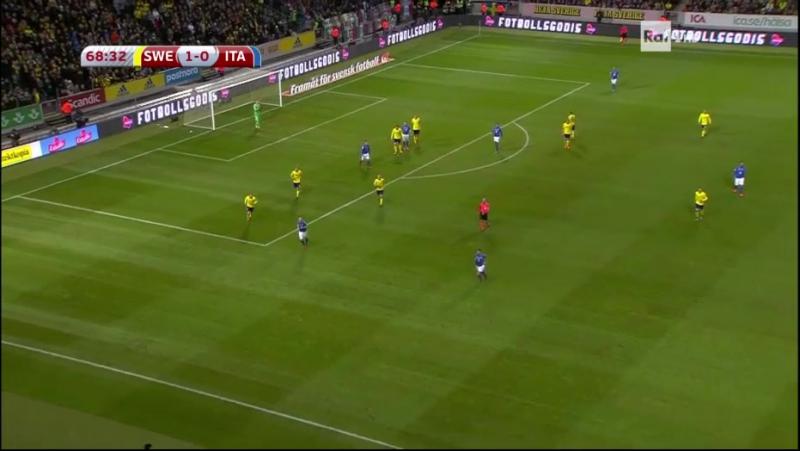 Svezia - Italia (second Halftime)