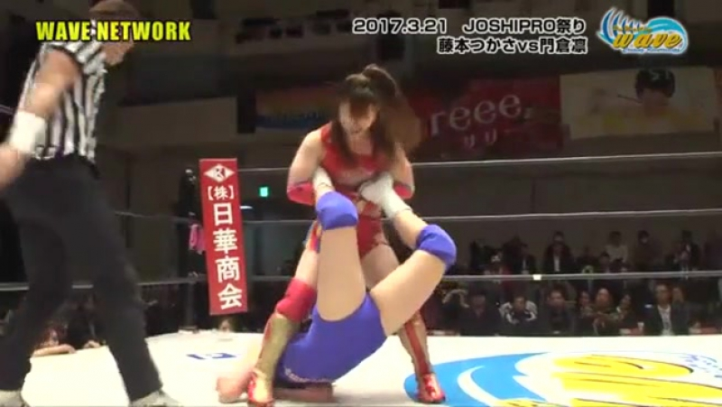 Rin Kadokura vs. Tsukasa Fujimoto (WAVE - Joshi Pro Festival)