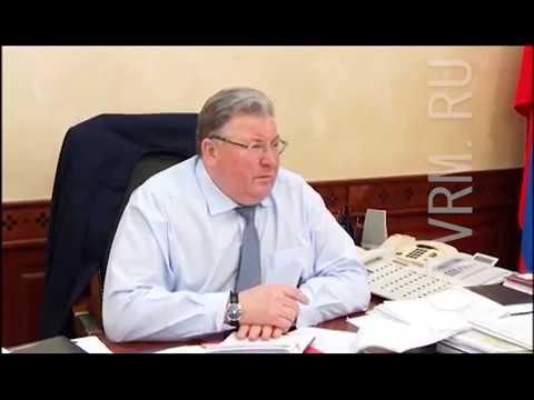 Владимир Волков провел рабочую встречу с руководителем Рузаевского района Вячеславом Кормилицыным