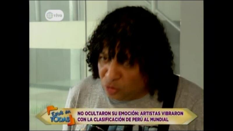 No Ocultaron su emocion artistas vibraron con la clasificacion de Peru al mundial