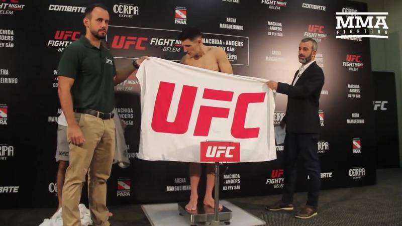 UFC Belem Official Weigh-Ins