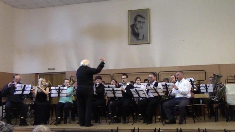 Духовой оркестр преподавателей ДМШ и ДШИ ЮАО города Москвы