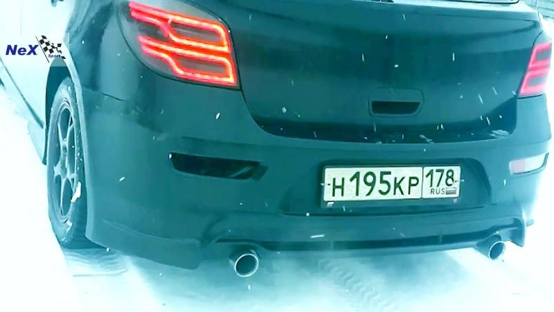 NeX® Chevrolet Cruze Hatchback ЭКСКЛЮЗИВ Глушитель раздвоенный Выхлоп решает