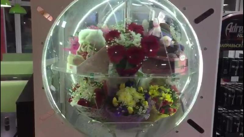 Видео из Петербурга с цветоматом FStor на автозаправочной станции ФАЭТОН