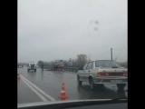 ДТП на 134 километре дороги Темрюк-Краснодар-Кропоткин. 29 марта.
