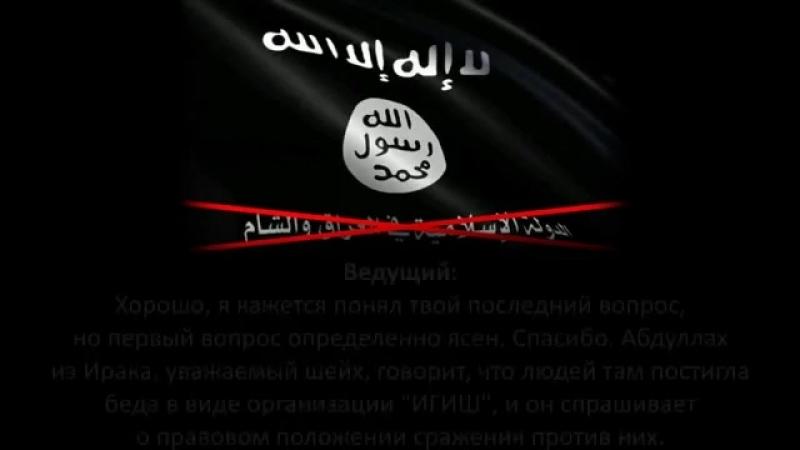 Шейх Абдульазиз Али Аш-Шейх_ Сущность ИГИШ и хукм сражения против них