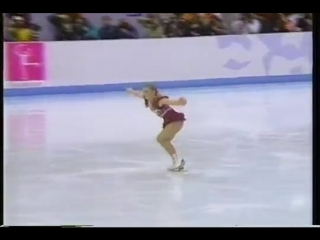 Tonya harding (usa) - 1994 lillehammer, figure skating, ladies free skate, 1st