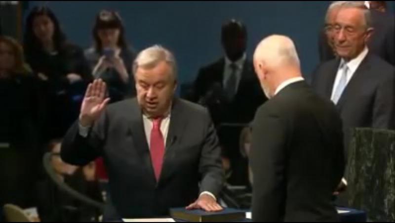Год назад Антониу Гутерриш принес присягу в качестве девятого Генсека ООН