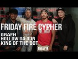 Friday Fire Cypher: Grafh, Hollow Da Don and Organik from King Of The Dot