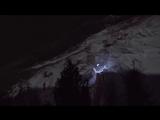 Ночной спуск с горы