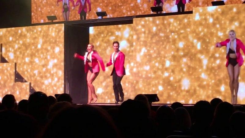 Emma Slater and Sasha Farber - Run Away Baby Dance (3/18) - DWTS Light Up The Night Tour LA